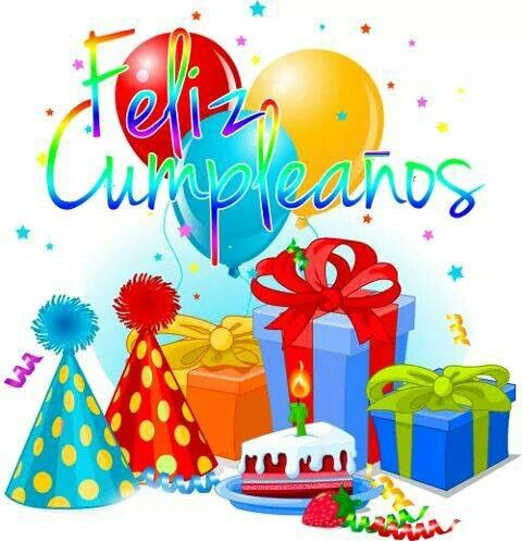 Feliz cumpleanos. Happy Birthday #spanish.