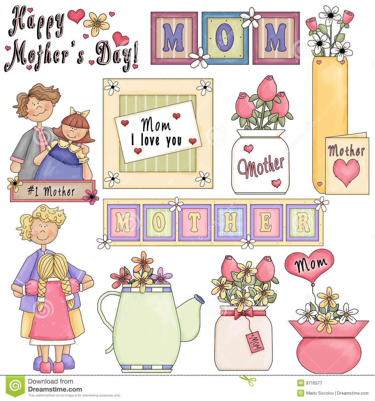 Clipart Dia De Las Madres.