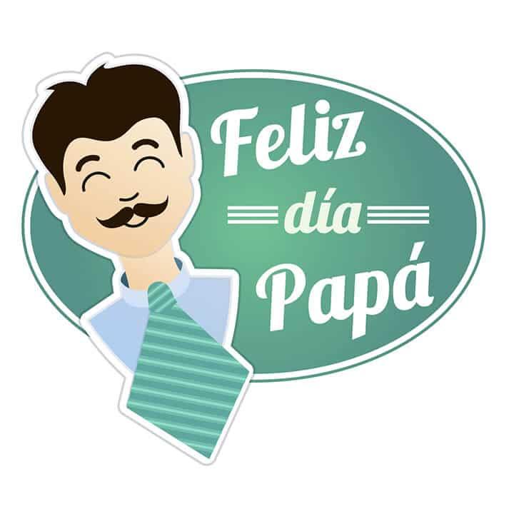 Camiseta Feliz Día Papá.