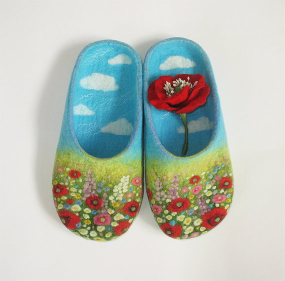Handmade wooden shoe lasts/ forms/ molds for forming felted.
