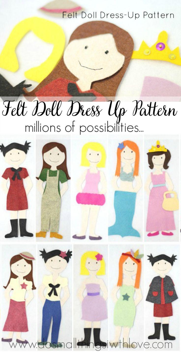 1000+ ideas about Felt Doll Patterns on Pinterest.