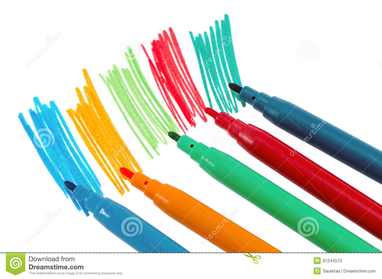 Hand Draw Color Felt.