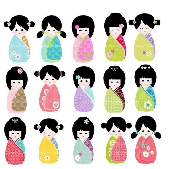 1000+ images about doll clip art on Pinterest.