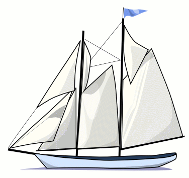 Sailboat 2 Clip Art Download.