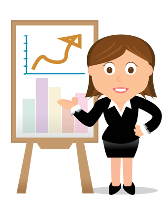 Accounting clipart female accountant, Accounting female.