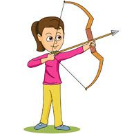Free Female Archer Cliparts, Download Free Clip Art, Free.