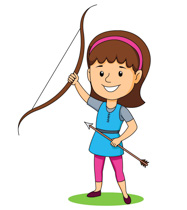 Free Female Archer Cliparts, Download Free Clip Art, Free.