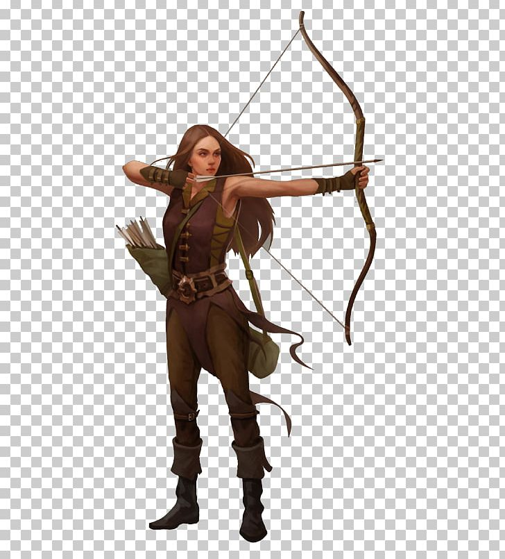 Drawing Female Archery Illustration PNG, Clipart, Anais.