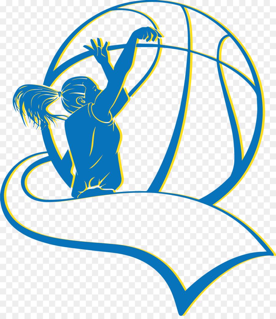 Women's Basketball Cliparts.