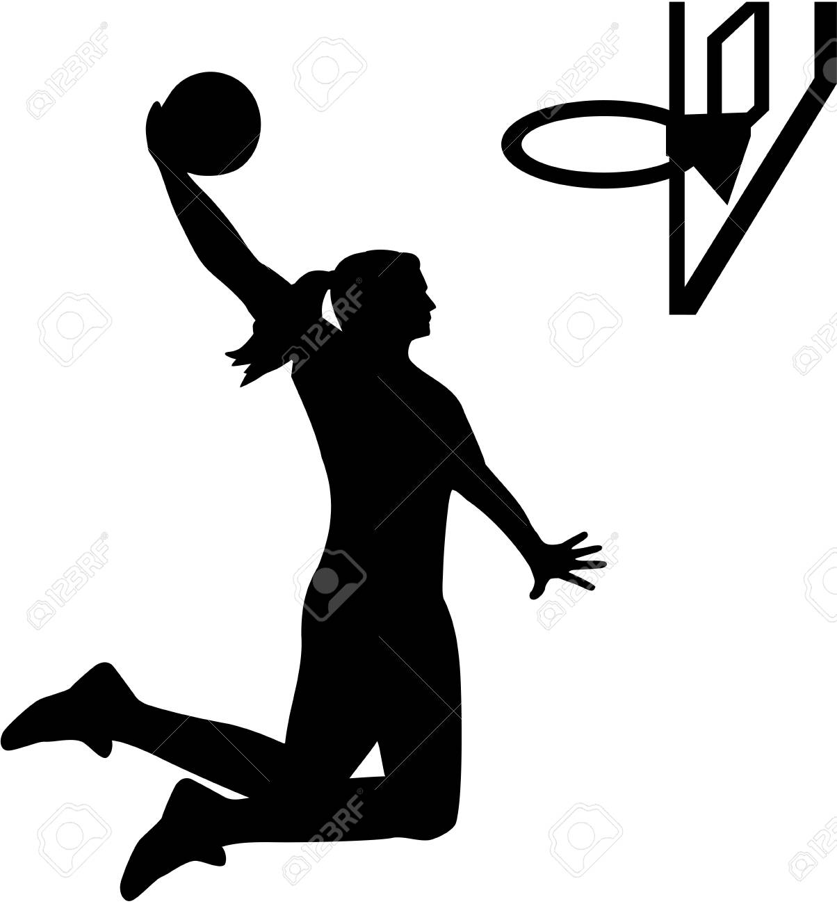 Female Basketball Player.