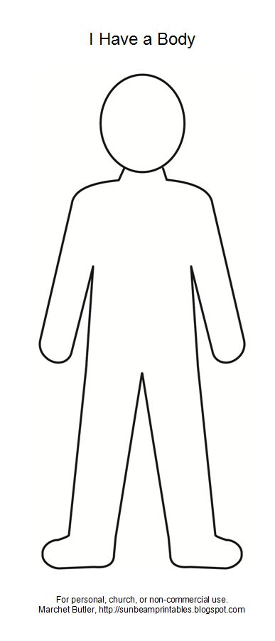 female body outline clipart - Clipground