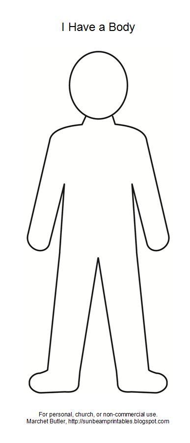 Body Outline Clipart & Body Outline Clip Art Images.