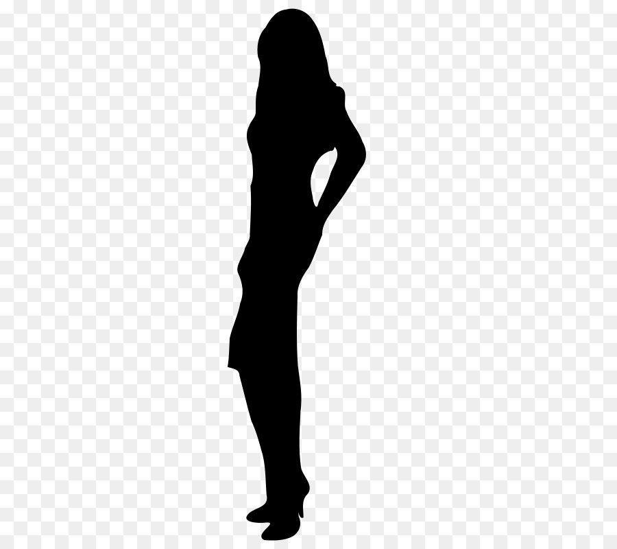 Female Body Shape Human Body Woman Silho #390058.