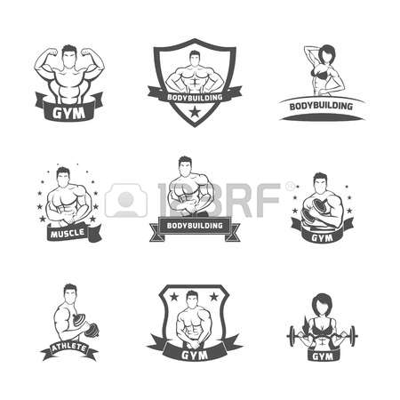 1,297 Female Bodybuilder Stock Vector Illustration And Royalty.