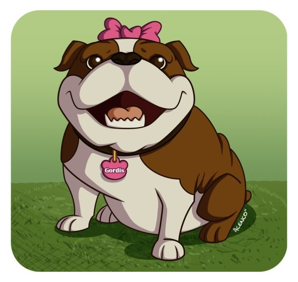 17 Best images about Bulldog comics and cartoons and clipart on.