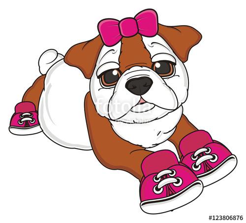 Showing post & media for Female bulldog cartoon.