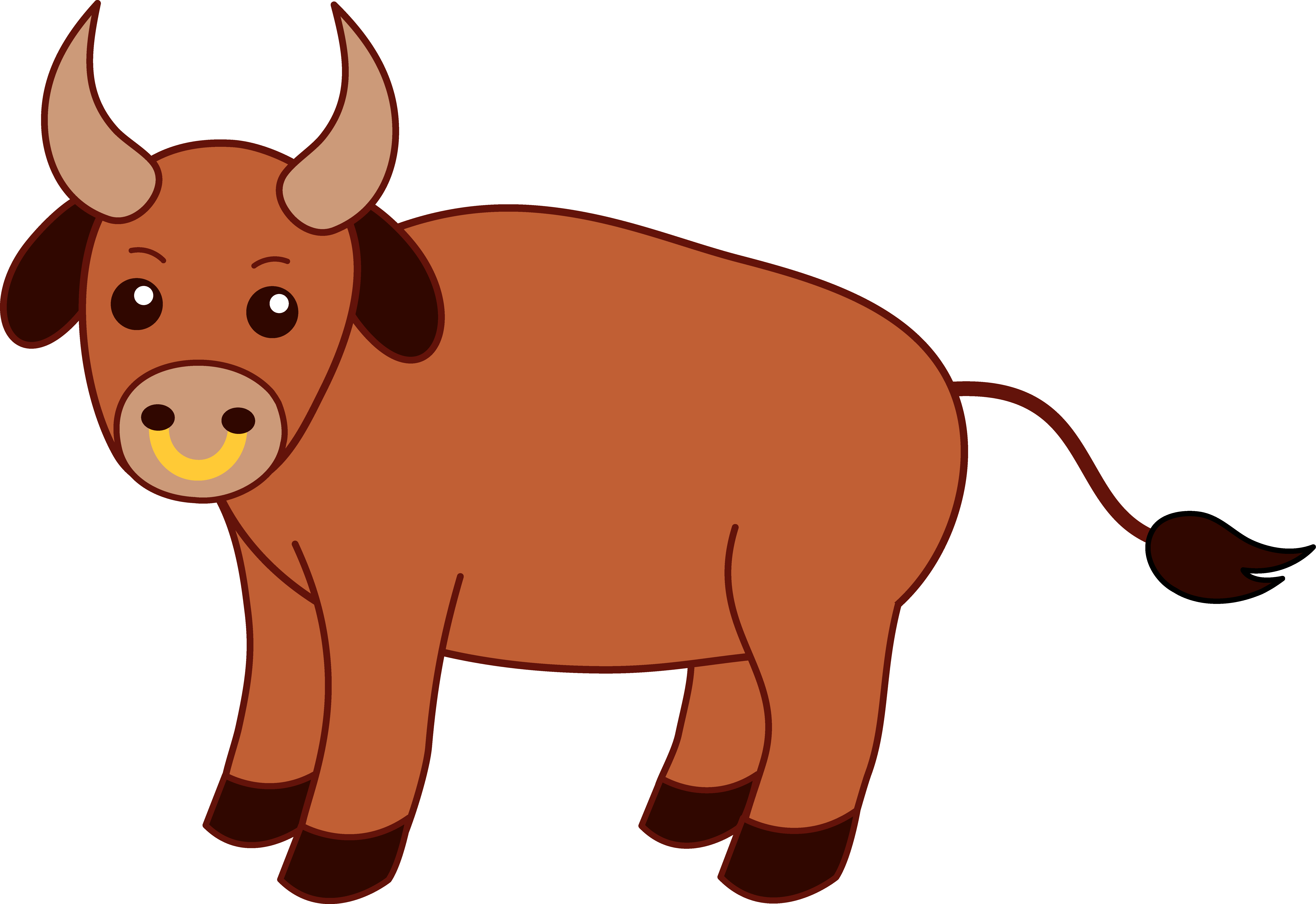 Female cattle clipart Clipground
