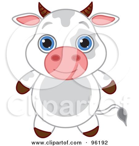 Free Cartoon Cow Clip Art.