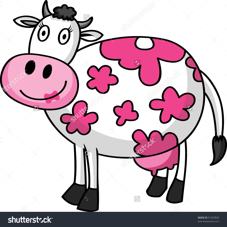 Female cow clipart.