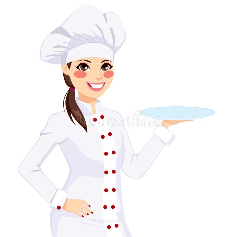 Female Chef Stock Illustrations.