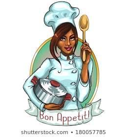 Black female chef clipart 2 » Clipart Portal.