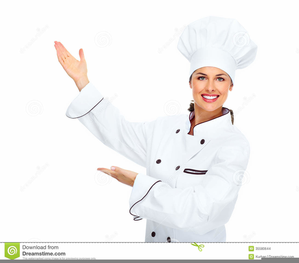 Female Chefs Clipart.