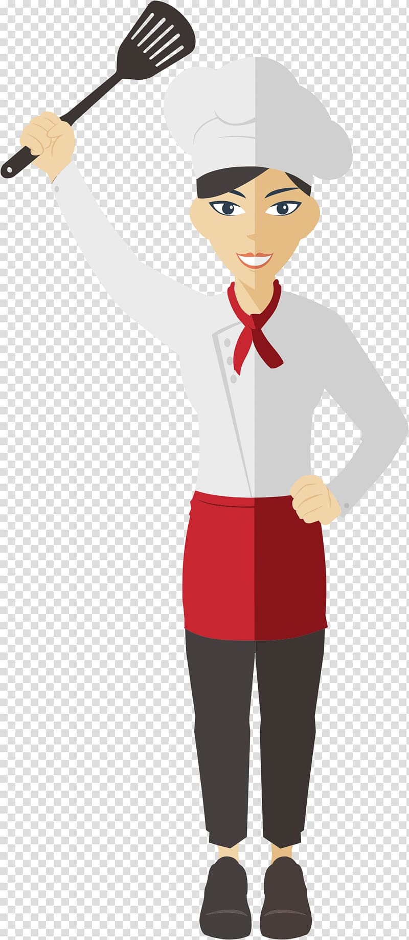 Chef Cooking Female , Female Chef transparent background PNG clipart.