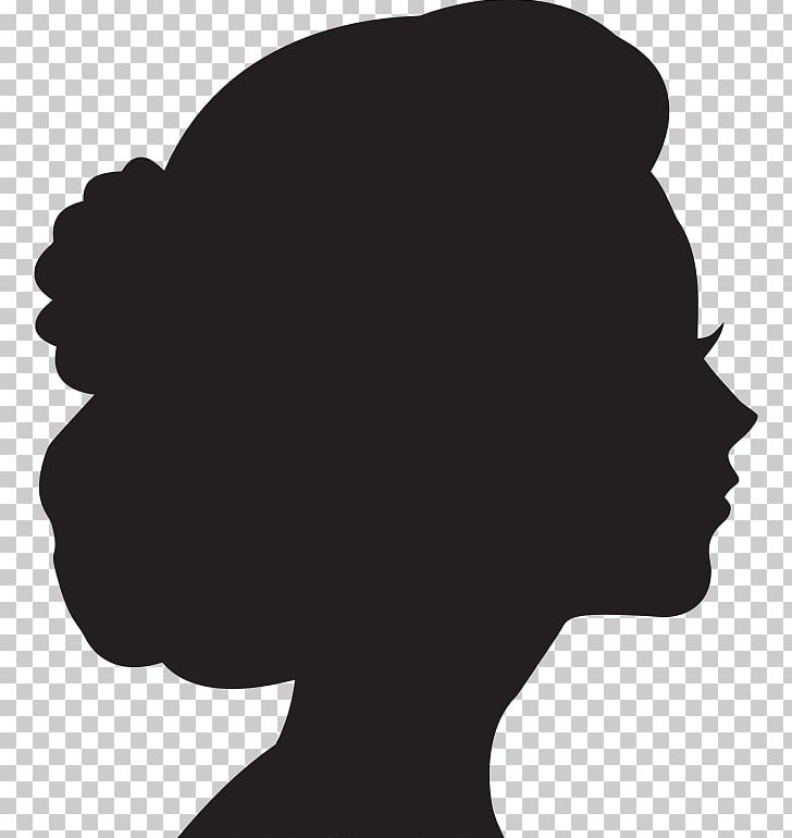 Woman Silhouette Female PNG, Clipart, Black, Black And White.