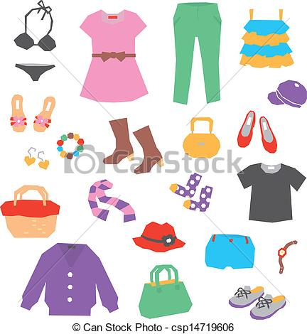 Clothing Illustrations and Clipart. 181,475 Clothing royalty free.