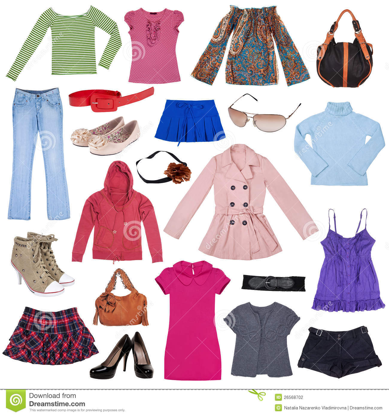 Female Clothing Clipart