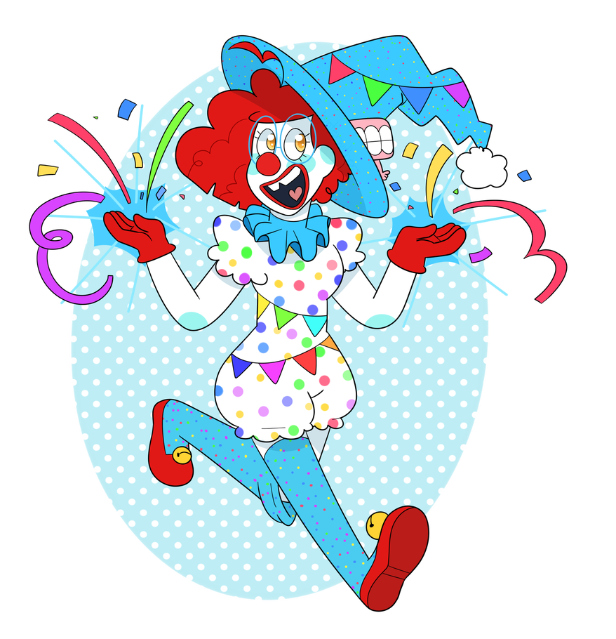 Clown Witch Supreme! by Winterwithers in 2019.
