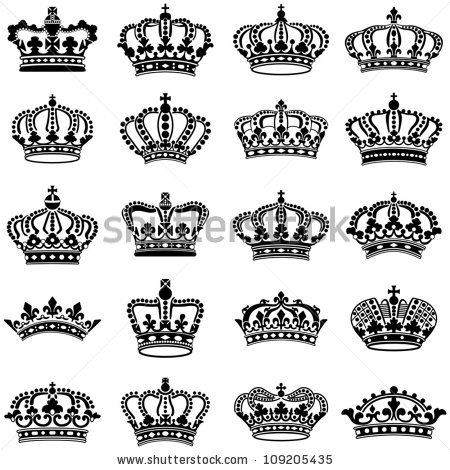Queen Crown Stock Images, Royalty.