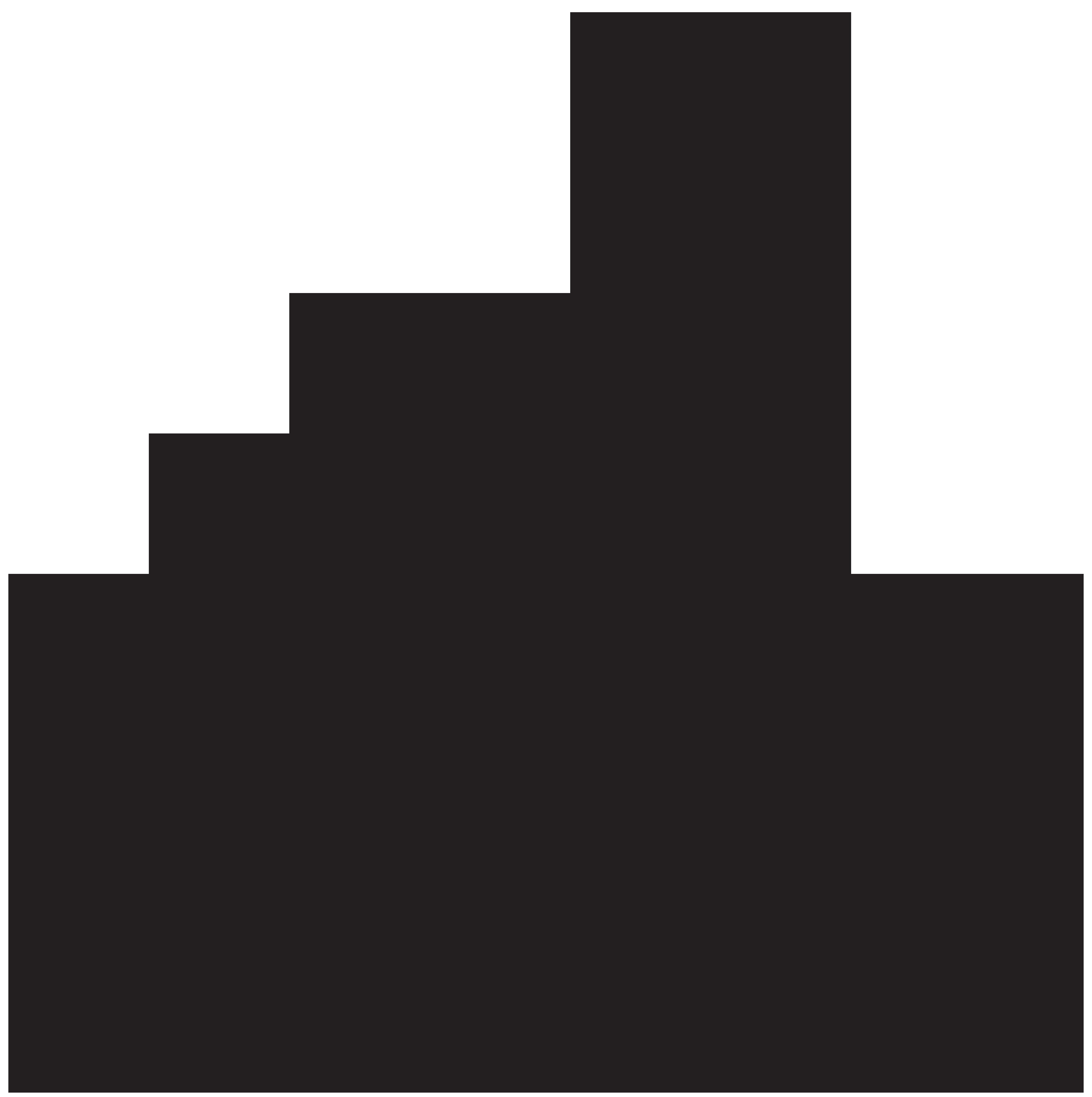 Female Cyclist Silhouette Clip Art Image.