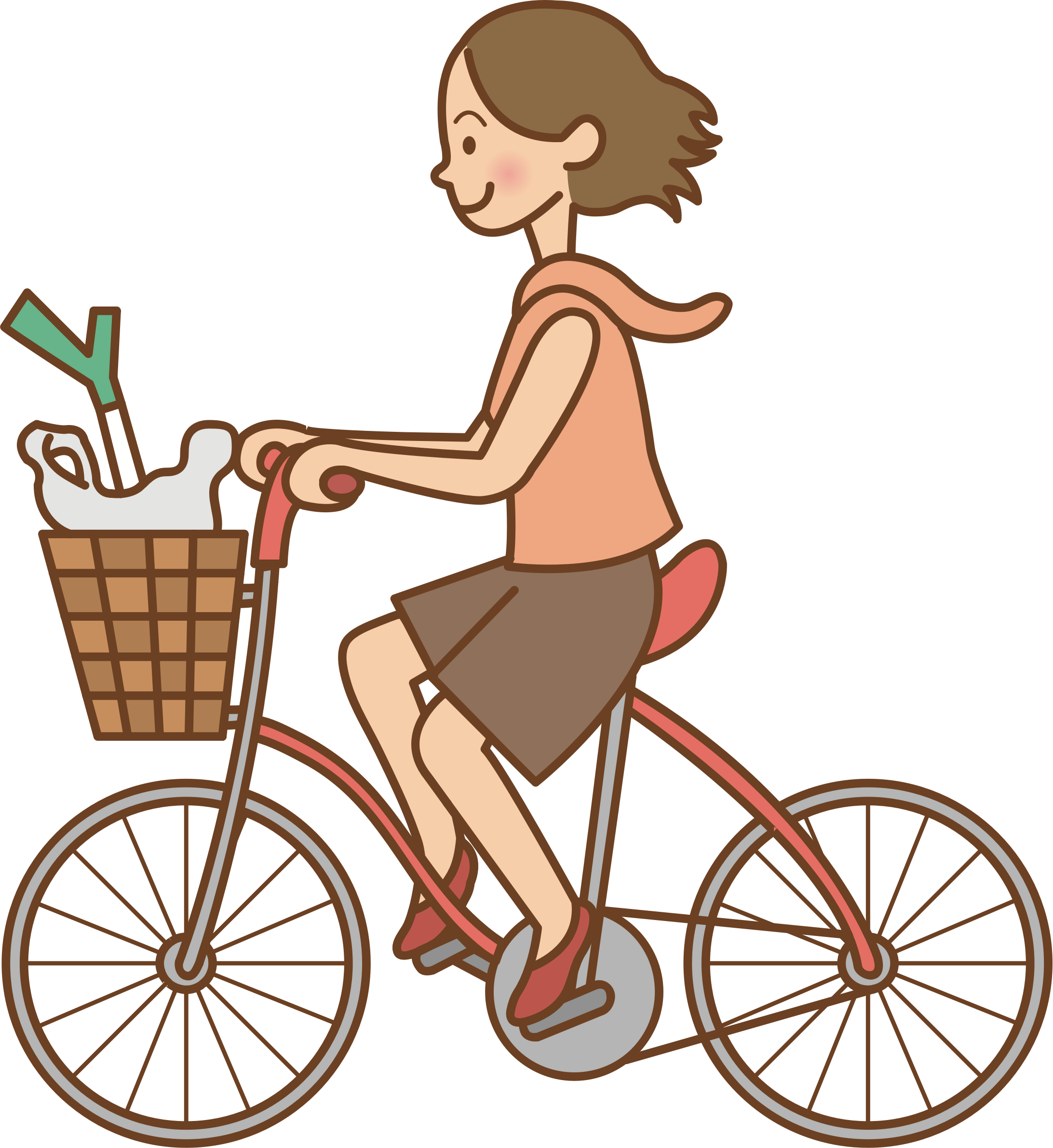 Cycle clipart female cyclist, Cycle female cyclist.