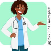 Female Doctor Clip Art.