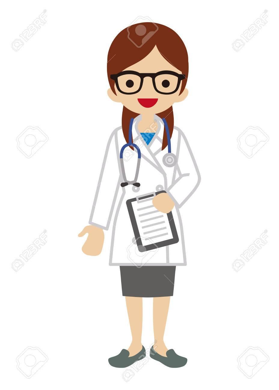 female doctor clipart #9