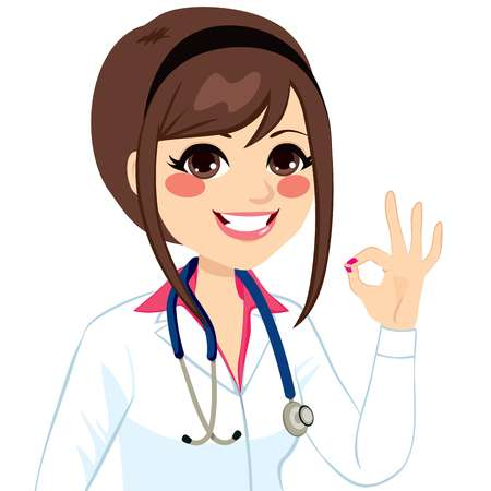 23,657 Female Doctor Stock Illustrations, Cliparts And Royalty Free.
