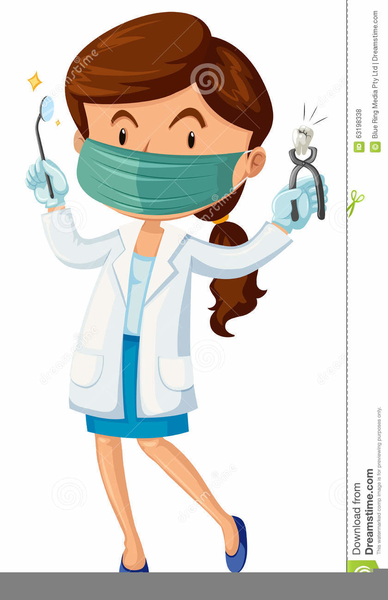 Free Clipart Female Doctor.
