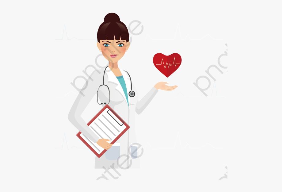 Female Doctor Clipart.