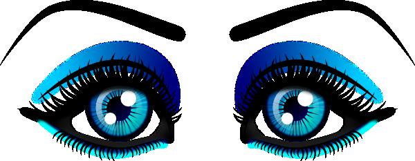 Female Eyes Clip Art at Clker.com.