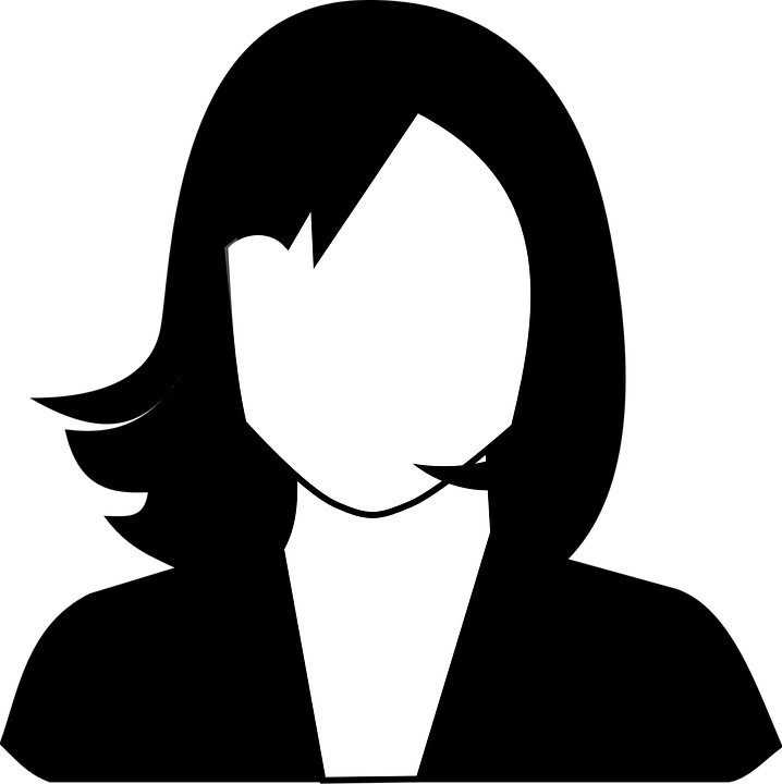 Free vector graphic: Female, Portrait, Avatar, Face.