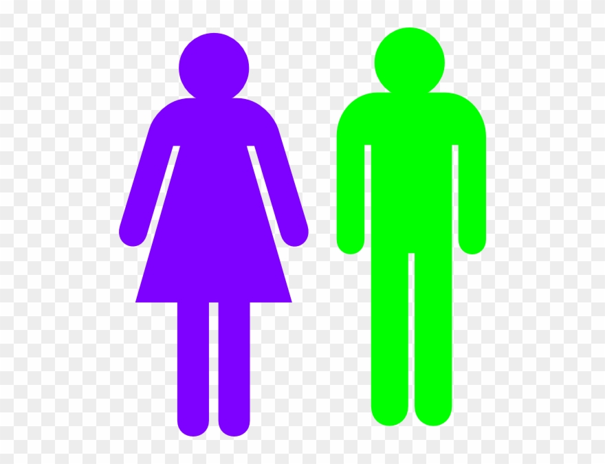 Boy And Girl Stick Figure.