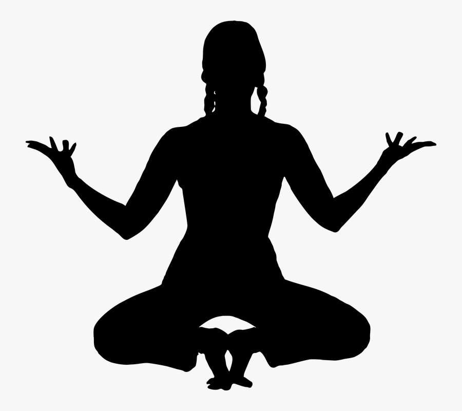 Meditation, Yoga, Silhouette, Exercise, Female, Fitness.