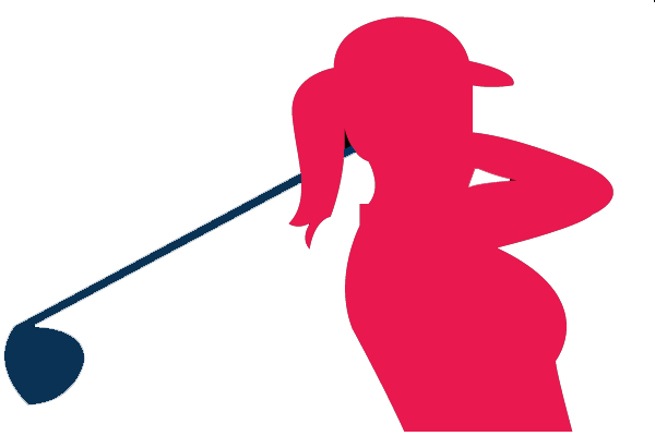 Female golfer clip art clipart images gallery for free download.