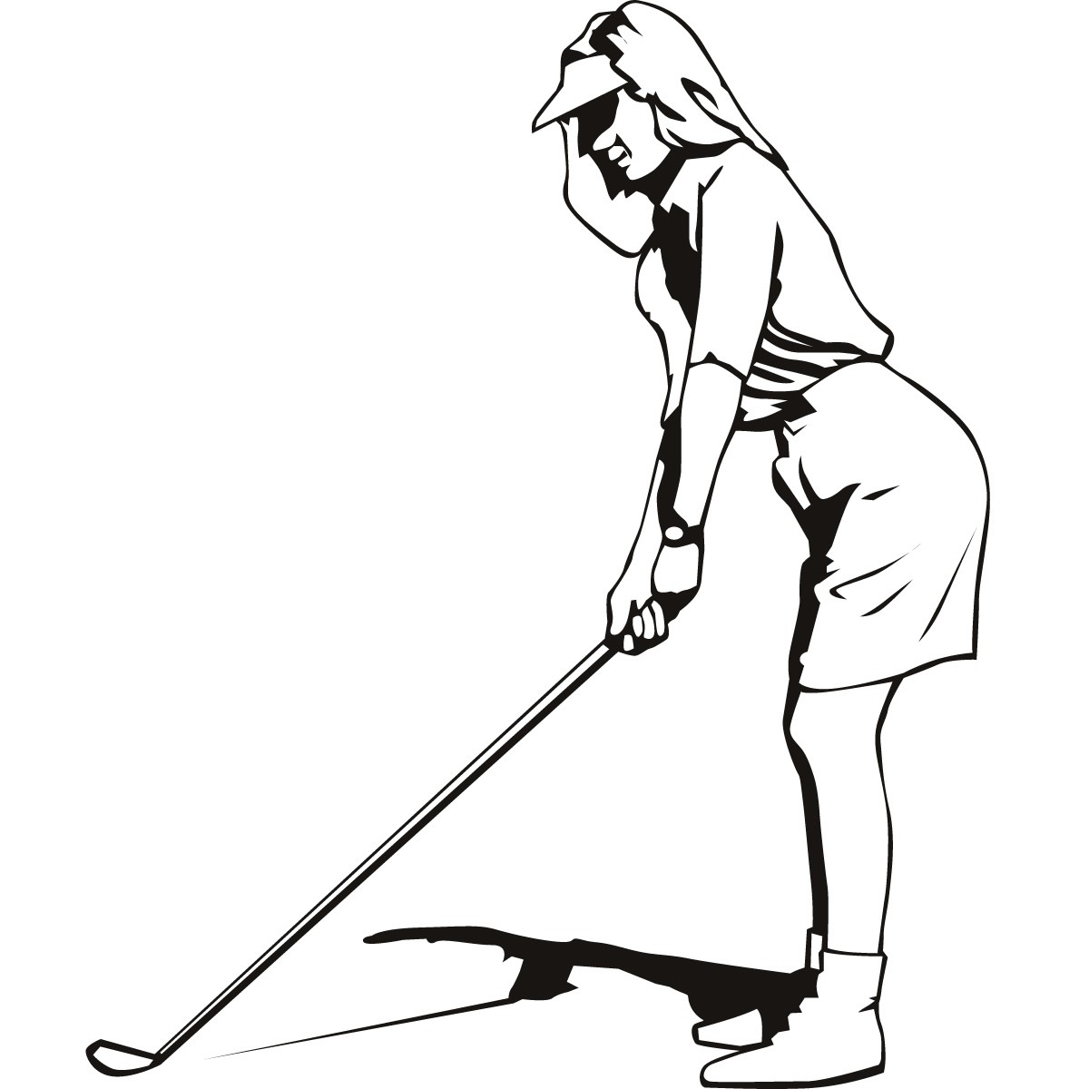 Free Female Golfer Cliparts, Download Free Clip Art, Free.