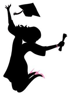 Girl Graduate Silhouette at GetDrawings.com.