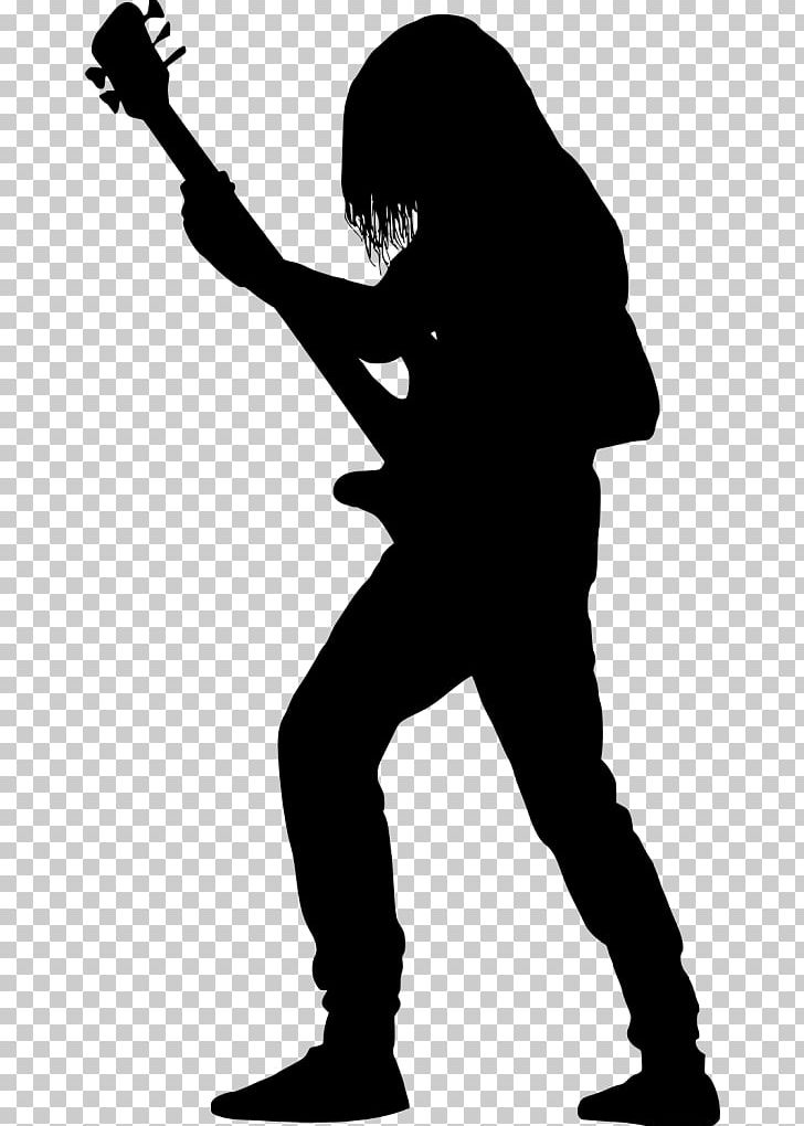 Guitarist Silhouette Bass Guitar PNG, Clipart, Art, Bass.