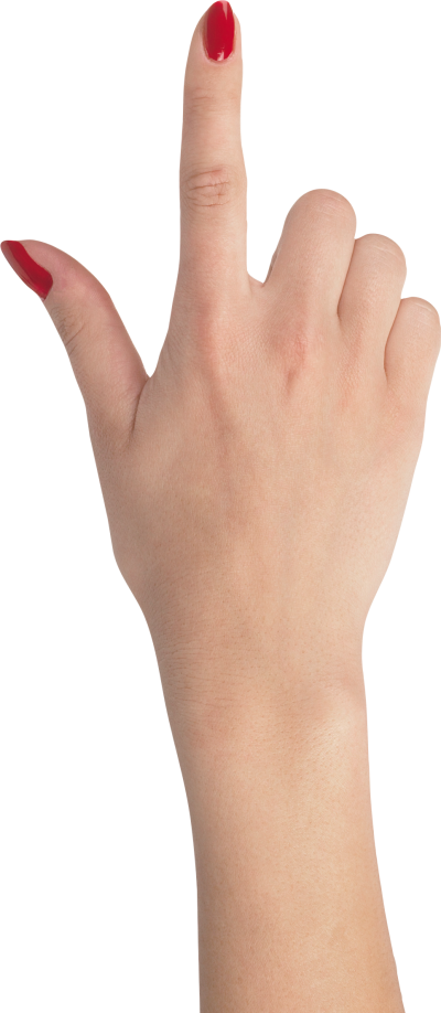 Download Free png Download Free png Female hand pointing up (82.