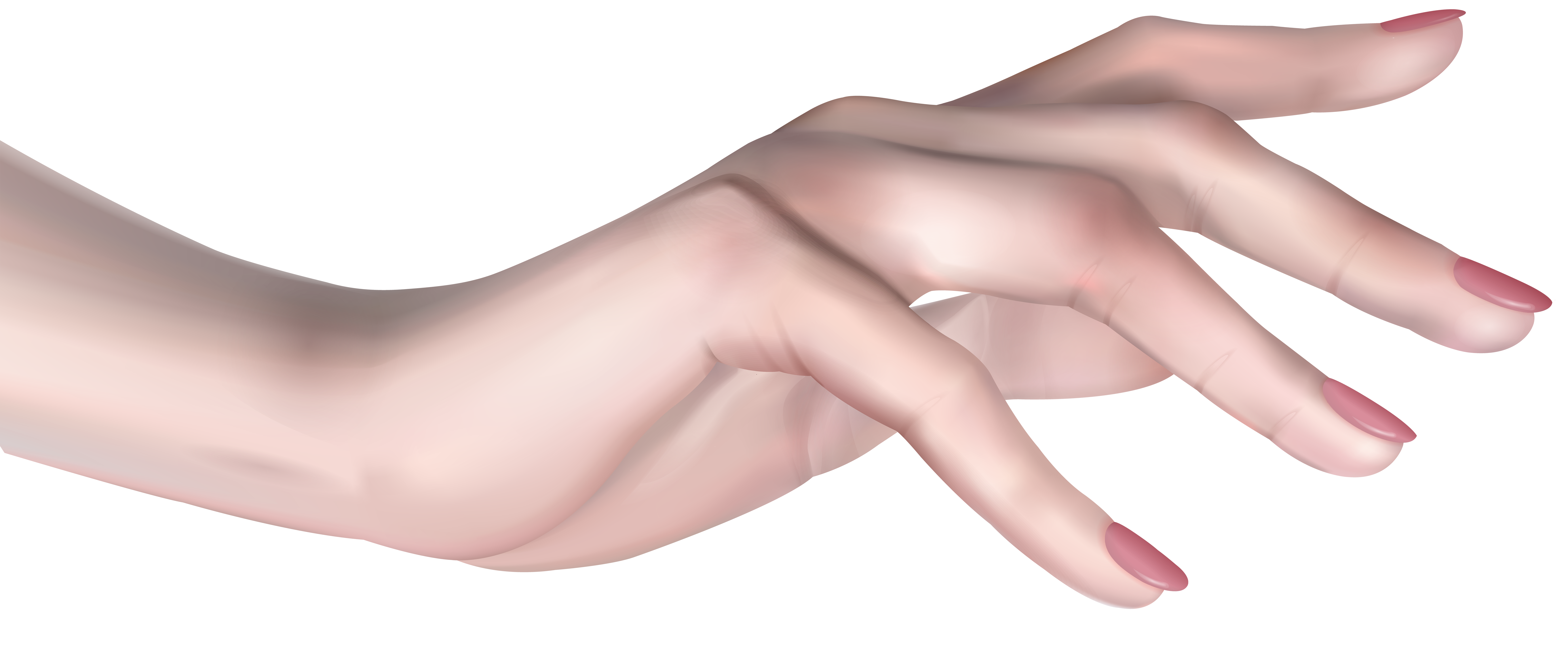 Female Hand PNG Clip Art Image.