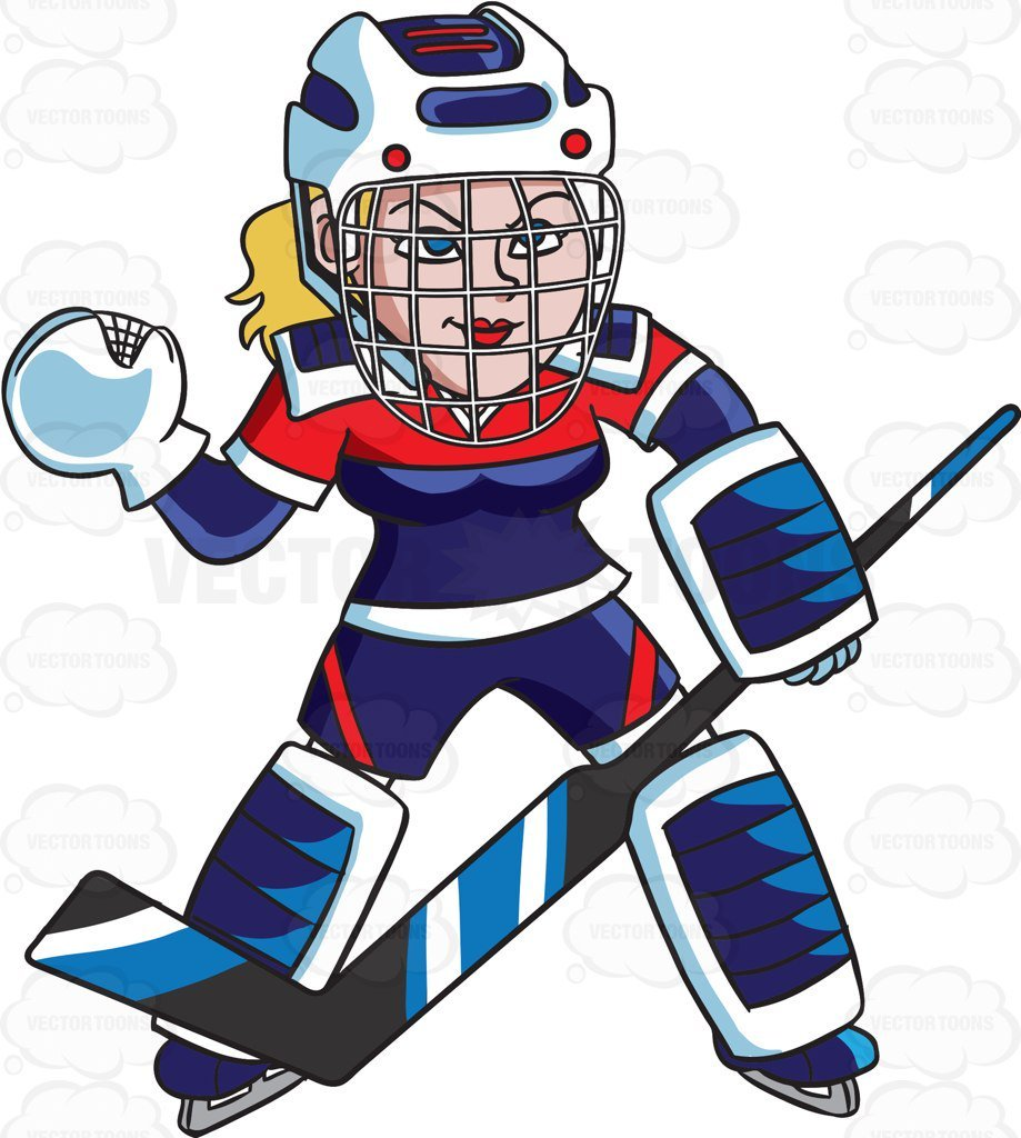 Female hockey player clipart 8 » Clipart Portal.